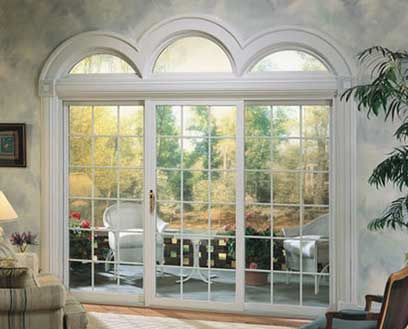 Soft-lite patio doors