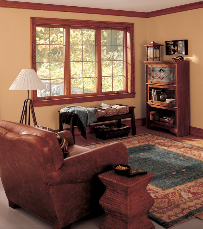 Infinity Casement Window in Green Bay Living Room